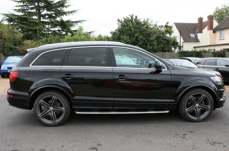 used Audi Q7 3.0 TDI QUATTRO S LINE + BLACK ED in cambridge