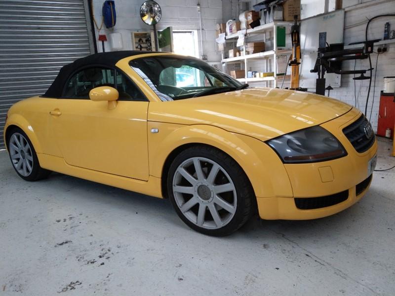 used Audi TT 1.8 T ROADSTER QUATTRO (225BHP) in cambridge