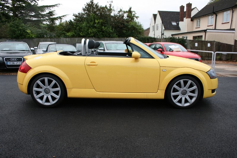 used Audi TT 1.8 T ROADSTER QUATTRO (225BHP) in cambridge
