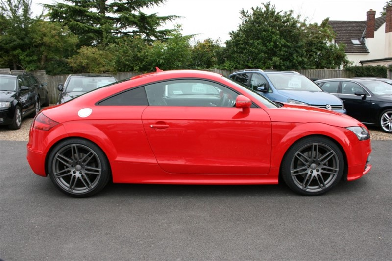 used Audi TT 2.0 TFSI QUATTRO BLACK ED in cambridge