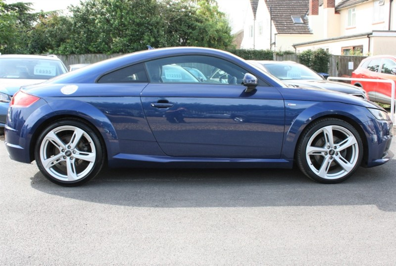 used Audi TT 2.0 TFSI QUATTRO S LINE in cambridge
