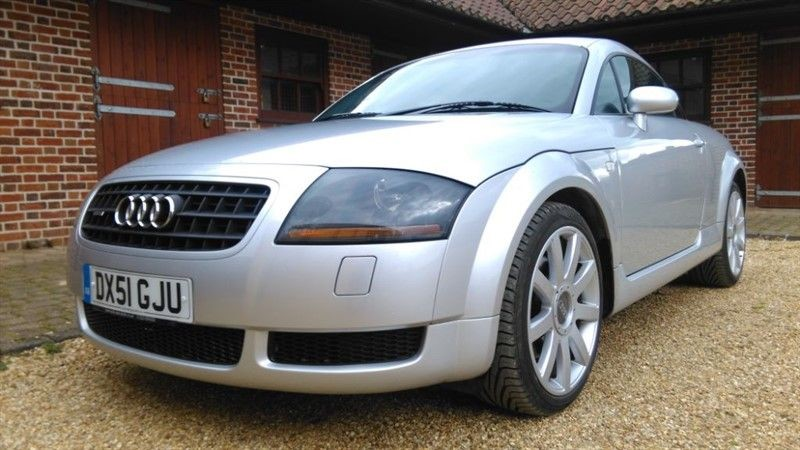 used Audi TT 1.8T Quattro 225 coupe in cambridge