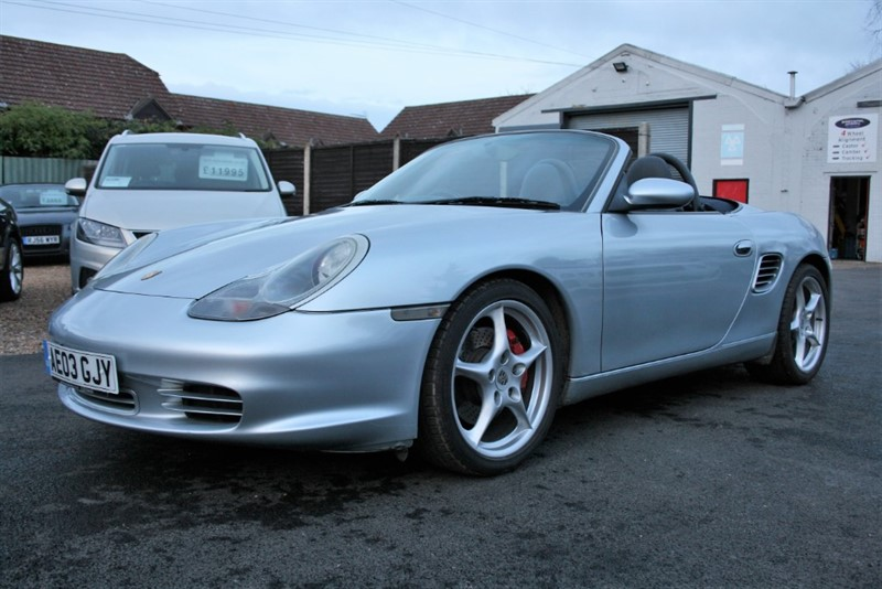used Porsche Boxster 3.2 S in cambridge