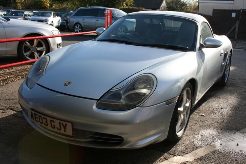 used Porsche Boxster 24V S in cambridge