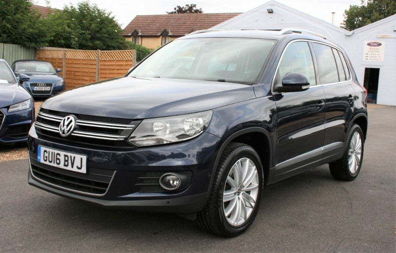 used VW Tiguan 2.0 MATCH EDITION TDI BMT 4MOTION in cambridge