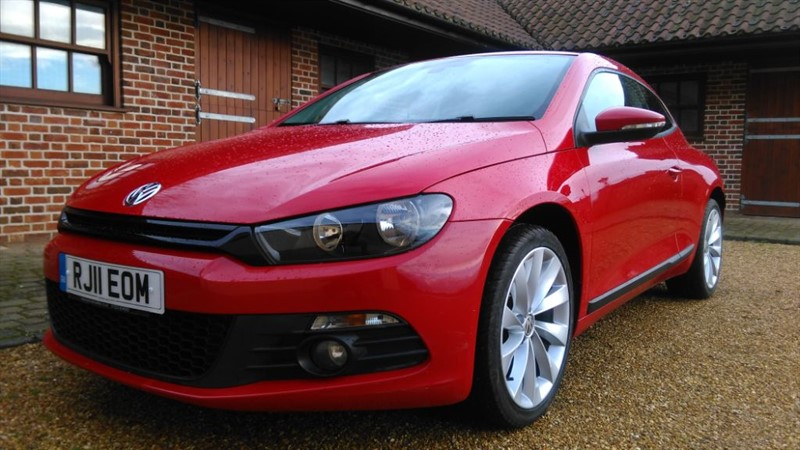 used VW Scirocco GT 2.0TDI BLUEMOTION TECHNOLOGY DSG in cambridge