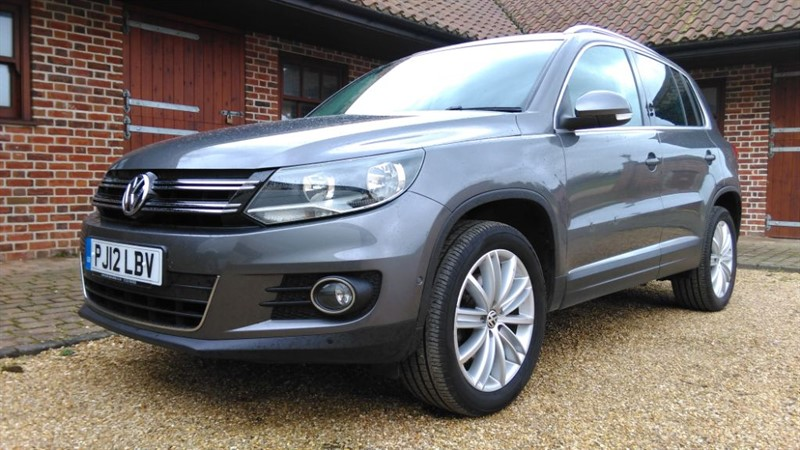 used VW Tiguan 2.0 SE TDI BLUEMOTION TECHNOLOGY 4MOTION in cambridge