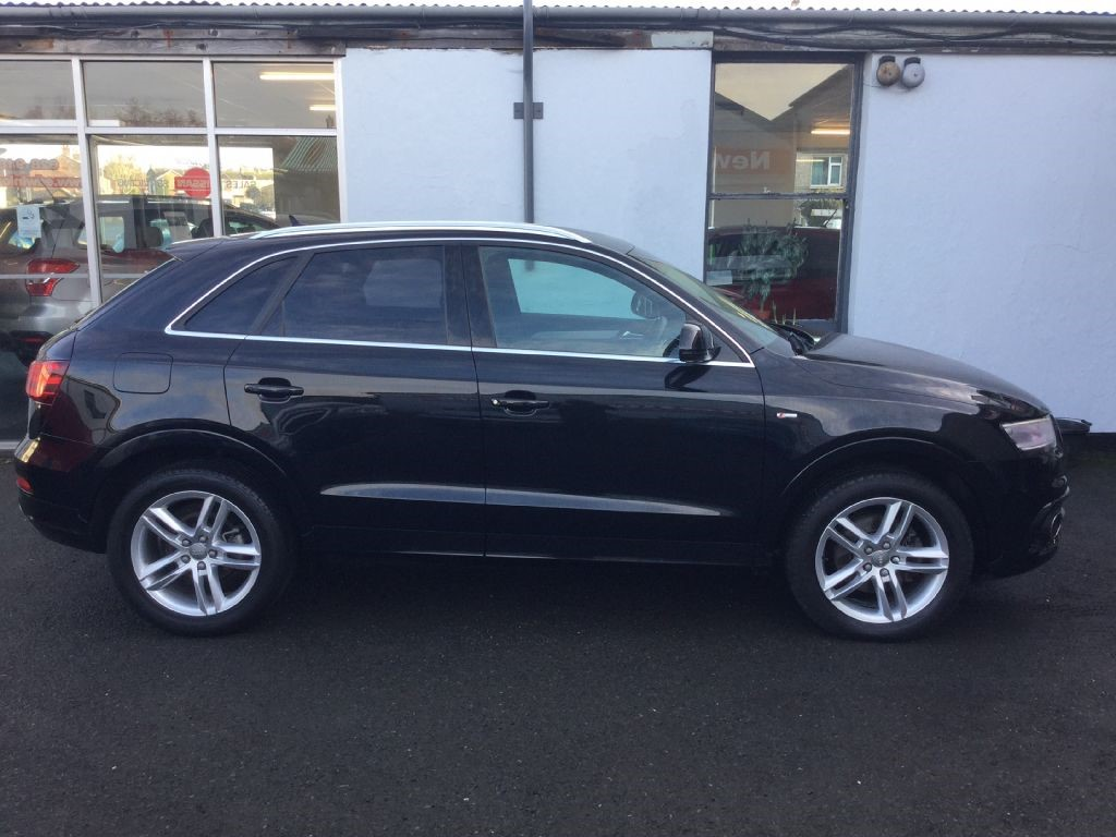 used audi q3 s line tdi county down. Black Bedroom Furniture Sets. Home Design Ideas