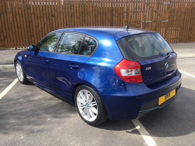 used bmw 1 series 120d m sport county down. Black Bedroom Furniture Sets. Home Design Ideas