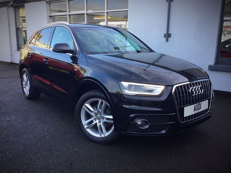 used Audi Q3 S-Line TDi  in newtownards-county-down