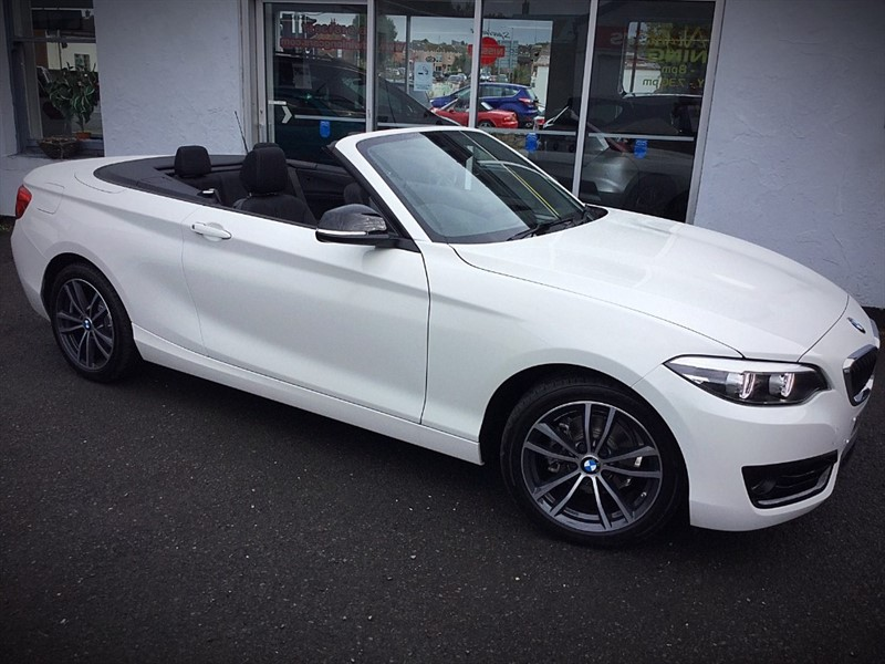 used BMW 218i SPORT in newtownards-county-down