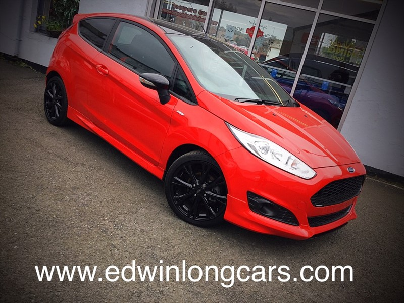 used Ford Fiesta ST-LINE RED EDITION in newtownards-county-down