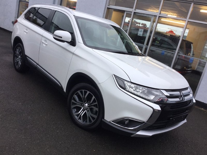 used Mitsubishi Outlander DI-D 3 7Seater 4x4 in newtownards-county-down