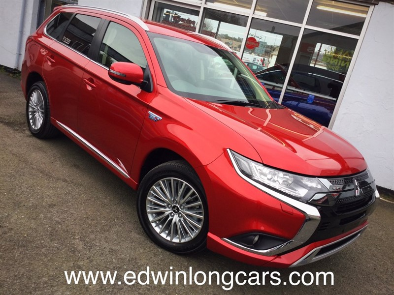 used Mitsubishi Outlander PHEV JURO in newtownards-county-down