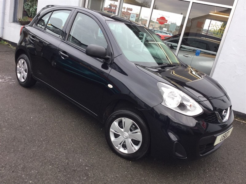used Nissan Micra VISIA in newtownards-county-down