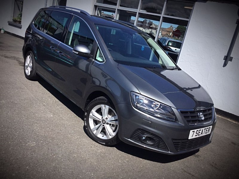used SEAT Alhambra TDI Xcellence DSG in newtownards-county-down