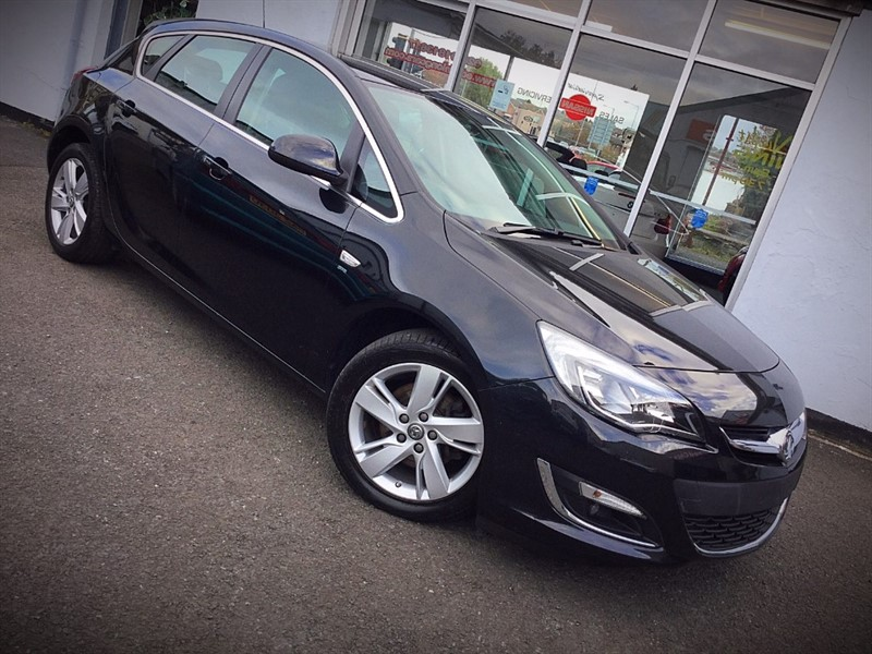 used Vauxhall Astra SRI CDTI S/S in newtownards-county-down