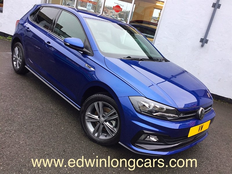 used VW Polo R-LINE TSI in newtownards-county-down