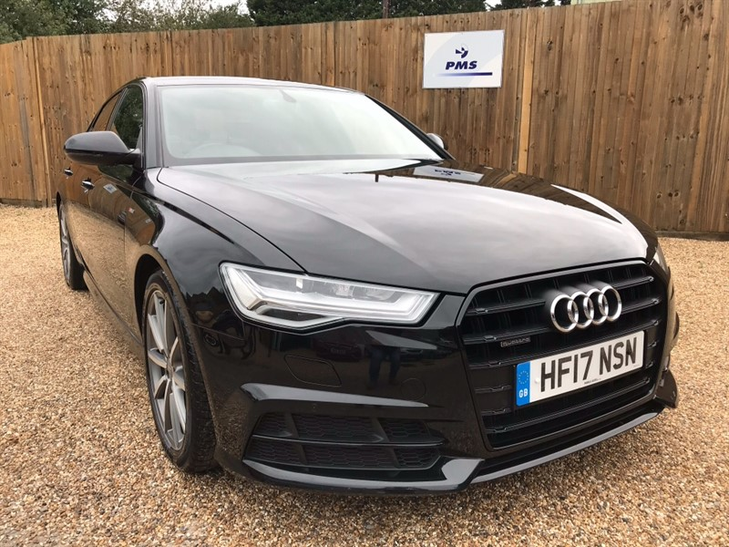 used Audi A6 Saloon TDI QUATTRO S LINE BLACK EDITION ONE OWNER in welwyn-hertfordshire