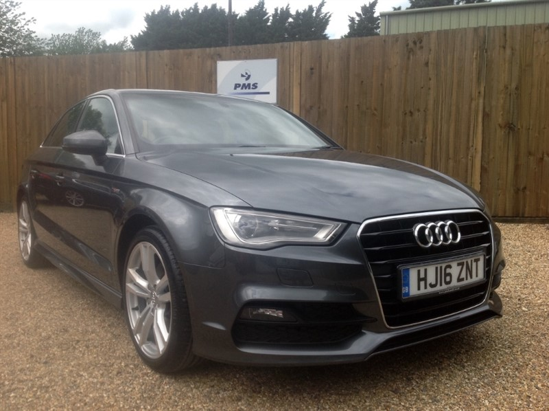 used Audi A3 TDI S LINE NAV HEATED SEATS-CRUISE in welwyn-hertfordshire