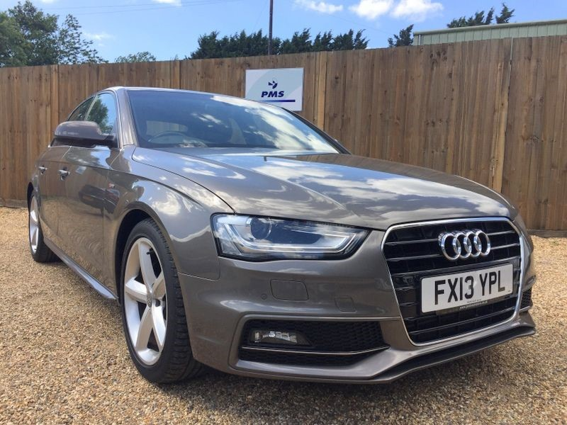 used Audi A4 2.0TDI S LINE SAT/NAV-LEATHER-GREAT SPEC in welwyn-hertfordshire