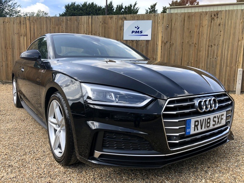 used Audi A5 TFSI S LINE TECH PACK AUDI WARRANTY TILL MAY 2021 in welwyn-hertfordshire