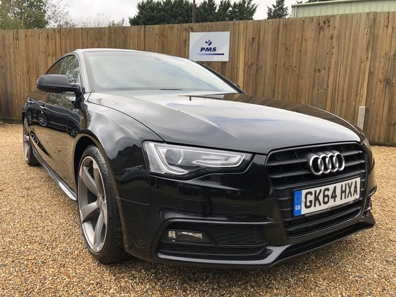 used Audi A5 SPORTBACK TDI S LINE BLACK EDITION SAT/NAV-FOLDING MIRRORS in welwyn-hertfordshire