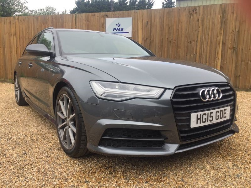 used Audi A6 Avant 2.0TDI ULTRA S LINE BLACK EDITION-GLASS ROOF-AMAZING SPEC in welwyn-hertfordshire