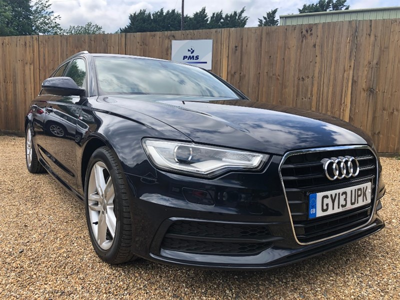 used Audi A6 Avant AVANT TDI S LINE SAT/NAV-LEATHER-HEATED SEATS in welwyn-hertfordshire