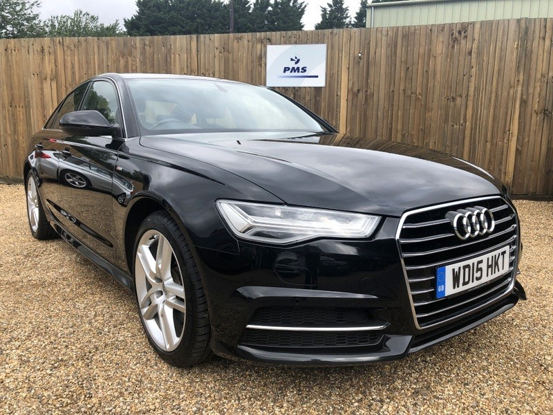 Used MYTHOS BLACK Audi A6 for Sale | Hertfordshire