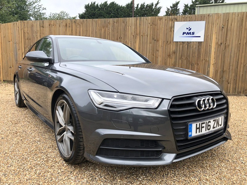 used Audi A6 Saloon TDI ULTRA S LINE BLACK EDITION HEATED SEATS in welwyn-hertfordshire