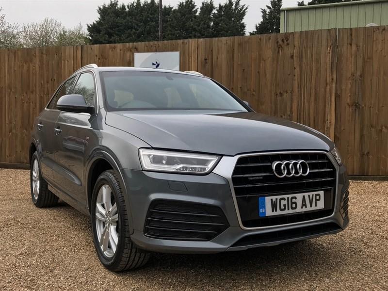 used Audi Q3 TDI QUATTRO S LINE SAT/NAV-ELEC MIRRORS/TAILGATE in welwyn-hertfordshire