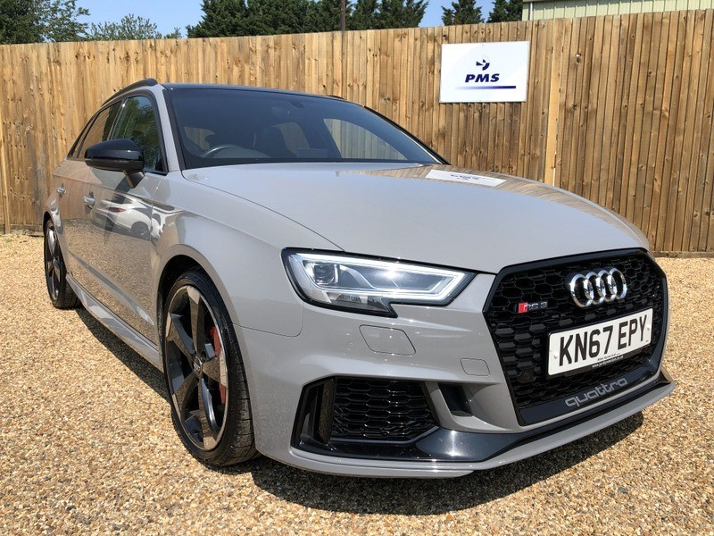 used Audi RS3 RS 3 TFSI QUATTRO PAN ROOF-AMAZING SPEC in welwyn-hertfordshire