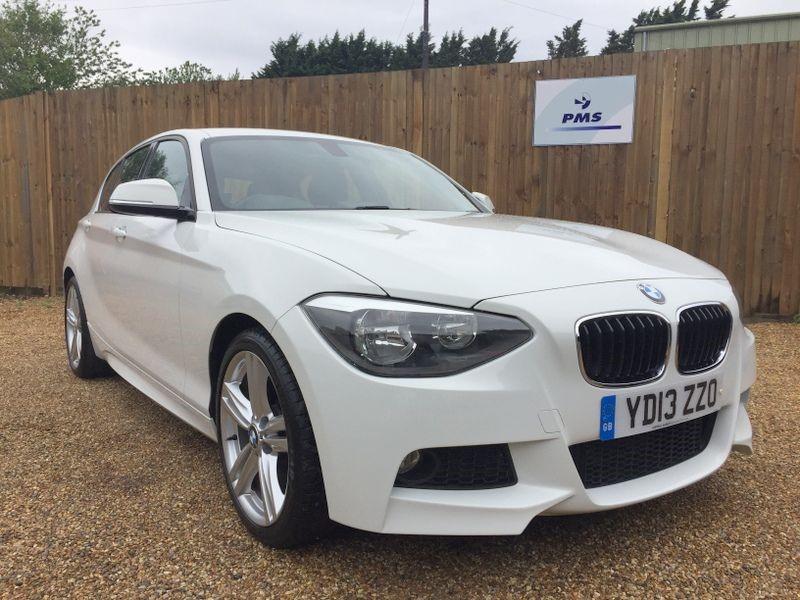 """used BMW 120d M SPORT BLUETOOTH-18"""" ALLOYS in welwyn-hertfordshire"""