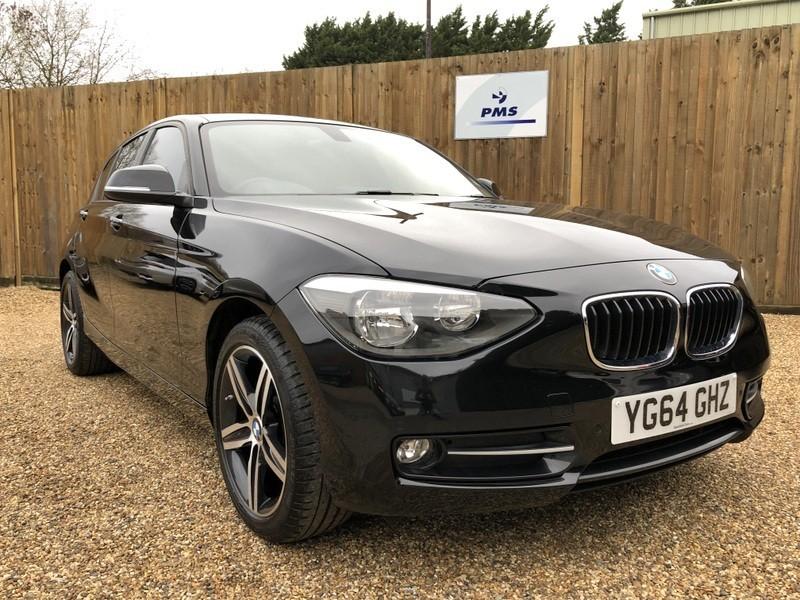 used BMW 116i SPORT PRO NAVIGATION-FRONT/REAR SENSORS in welwyn-hertfordshire