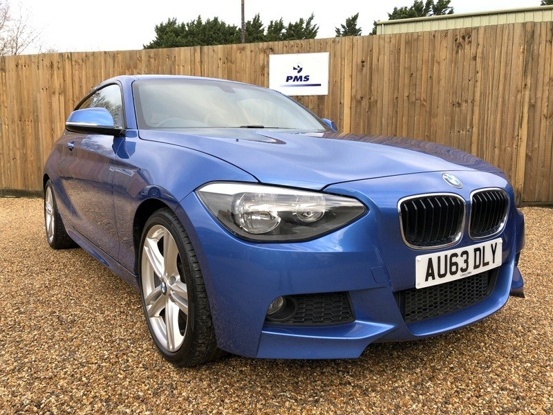 used BMW 125d M SPORT FULL LEATHER-BMW SERVICED in welwyn-hertfordshire