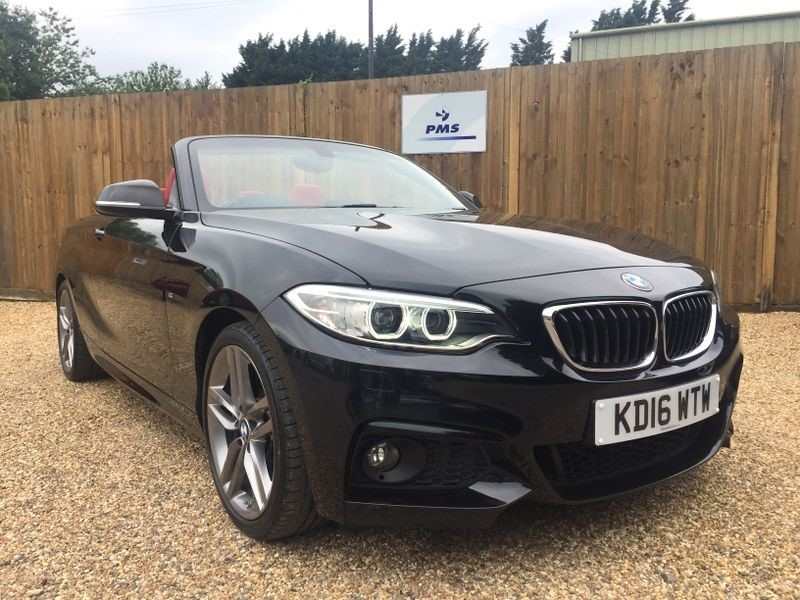 used BMW 220d M SPORT SAT/NAV-LEATHER-PLUS PACKAGE-AMAZING SPEC in welwyn-hertfordshire