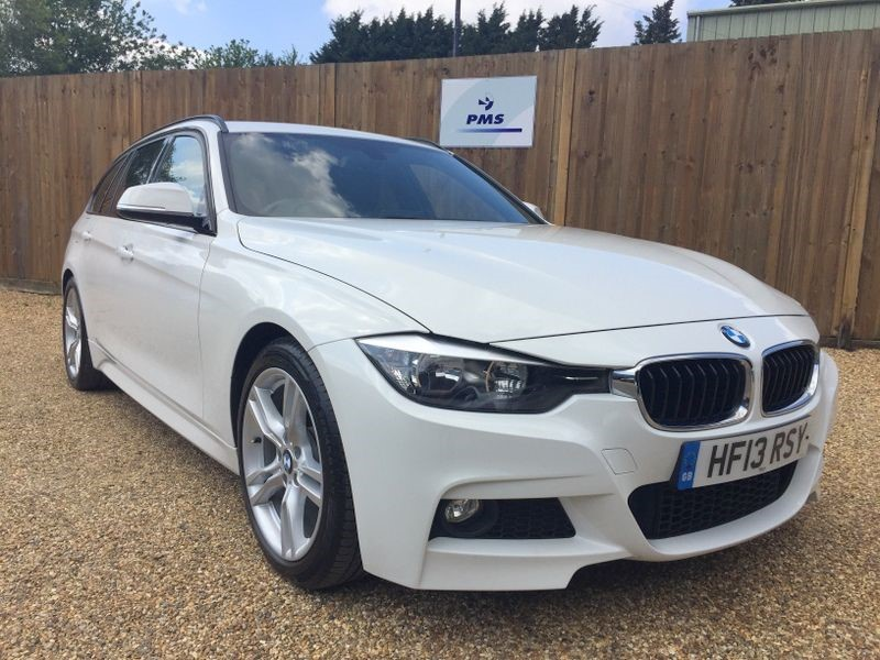 used BMW 320d M SPORT TOURING SAT/NAV-LEATHER-HIGH SPEC in welwyn-hertfordshire