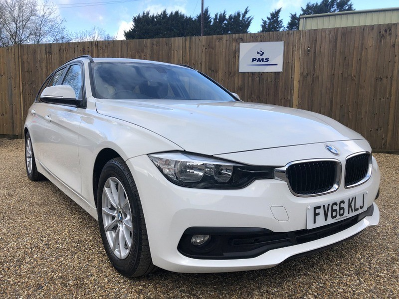used BMW 320d ED PLUS TOURING SAT/NAV-LEATHER-HEATED SEATS in welwyn-hertfordshire