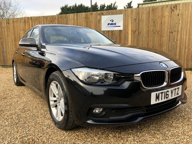 used BMW 320d ED PLUS SAT/NAV-LEATHER- HEATED SEATS-HIGH SPEC in welwyn-hertfordshire