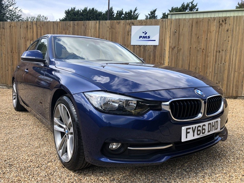 used BMW 320d ED SPORT LEATHER SAT NAV BMW SERVICE PACK in welwyn-hertfordshire