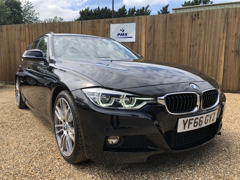 used BMW 330d M SPORT TOURING SAT/NAV-LEATHER-HIGH SPEC in welwyn-hertfordshire