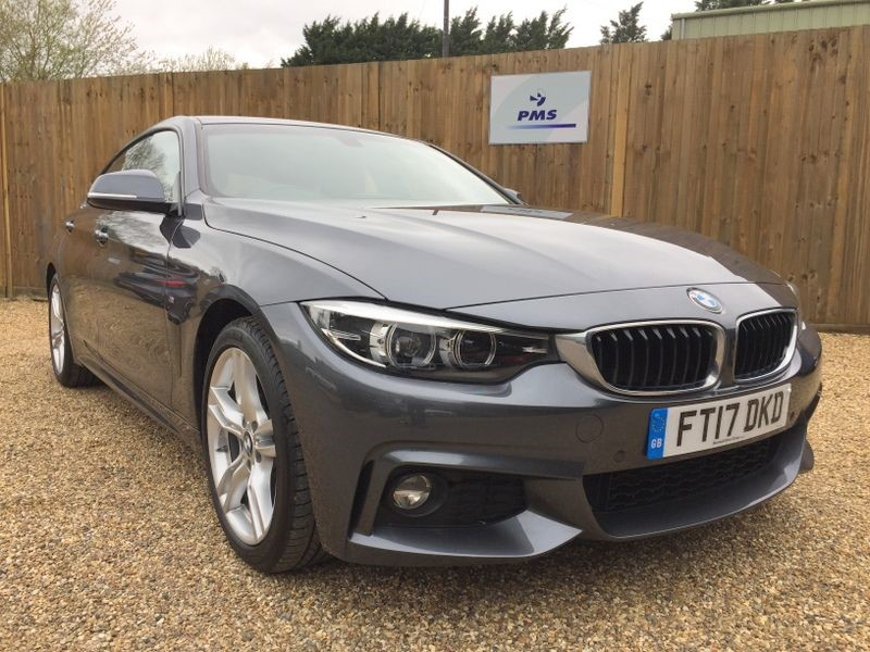 used BMW 420i M SPORT GRAN COUPE PRO NAV-BMW SERVICE PACK/WARRANTY in welwyn-hertfordshire