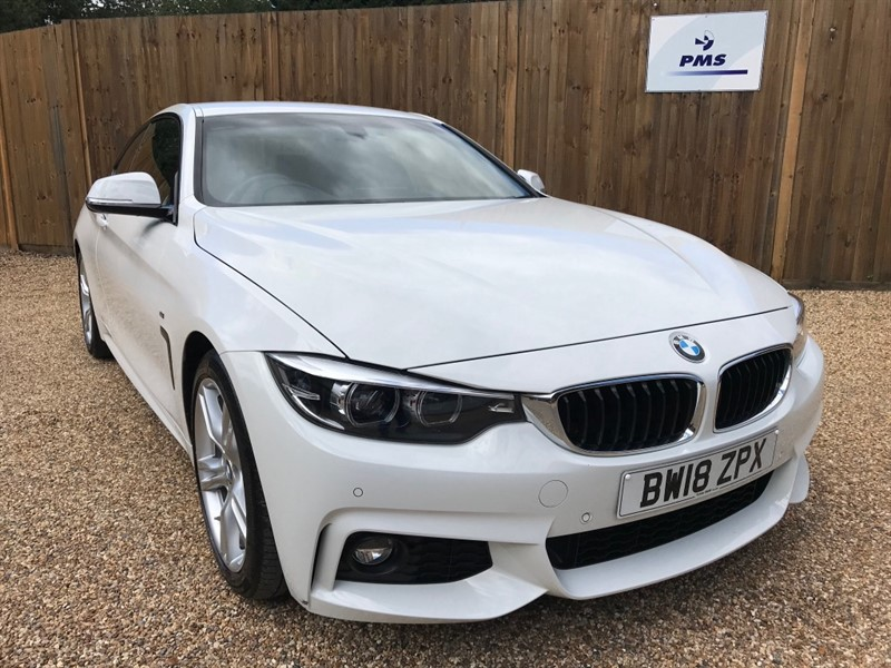 used BMW 420i M SPORT PROF NAVIGATION-BMW SERVICED in welwyn-hertfordshire