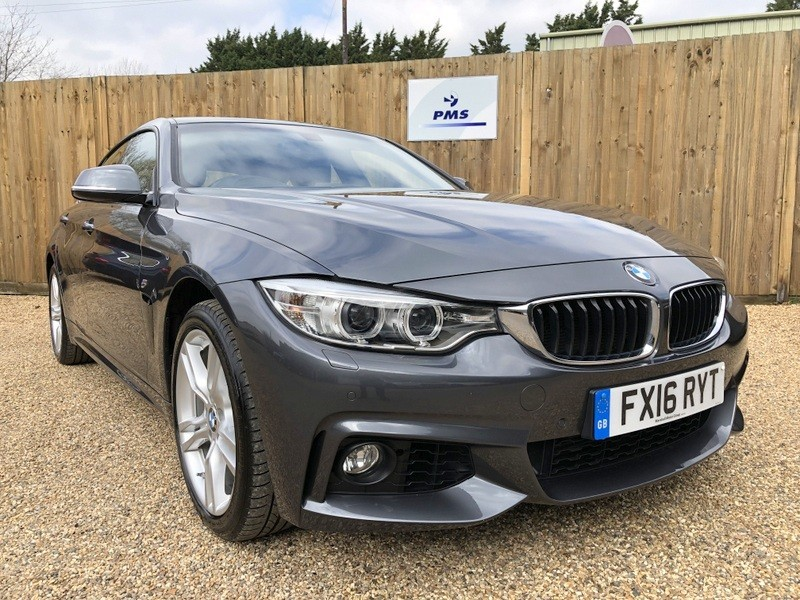 used BMW 435d XDRIVE M SPORT GRAN COUPE PROF MEDIA, GLASS SUNROOF-GREAT SPEC in welwyn-hertfordshire