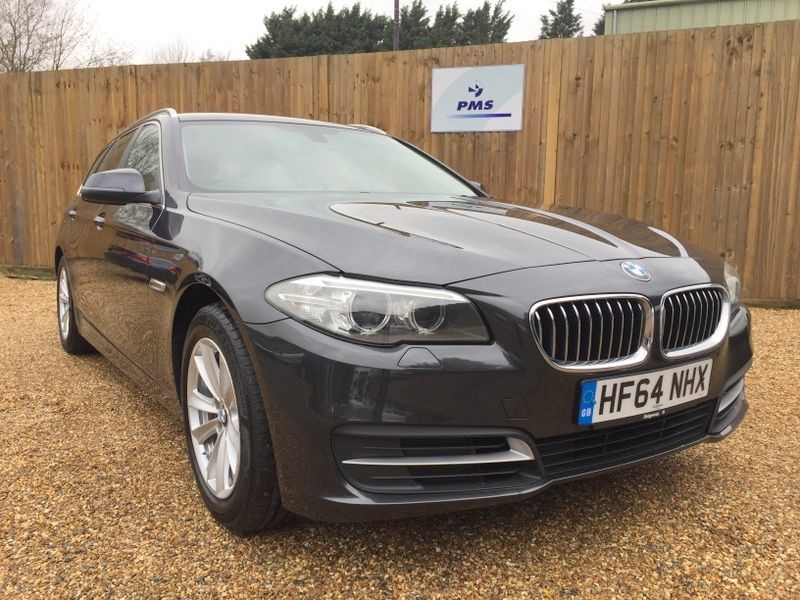 used BMW 530d SE TOURING SAT/NAV-LEATHER-HEATED SEATS in welwyn-hertfordshire