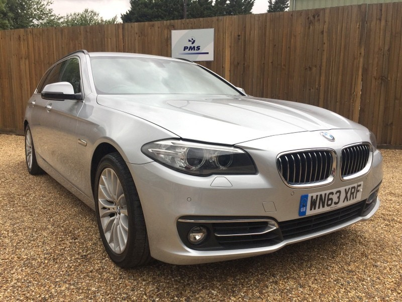 used BMW 520d LUXURY TOURING PRO SAT/NAV-LEATHER-ELECTRIC TAILGATE/SEATS-BIG SPEC in welwyn-hertfordshire
