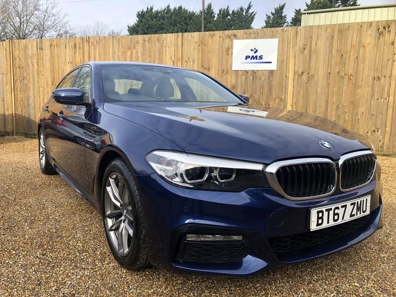 used BMW 520d M SPORT PRO-SAT/NAV -BMW WARRANTY in welwyn-hertfordshire