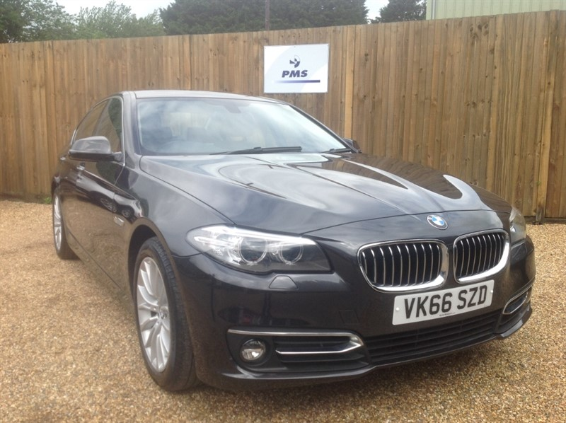 used BMW 520d LUXURY PRO SAT/NAV-LEATHER-ELECTRIC SEATS-BIG SPEC in welwyn-hertfordshire