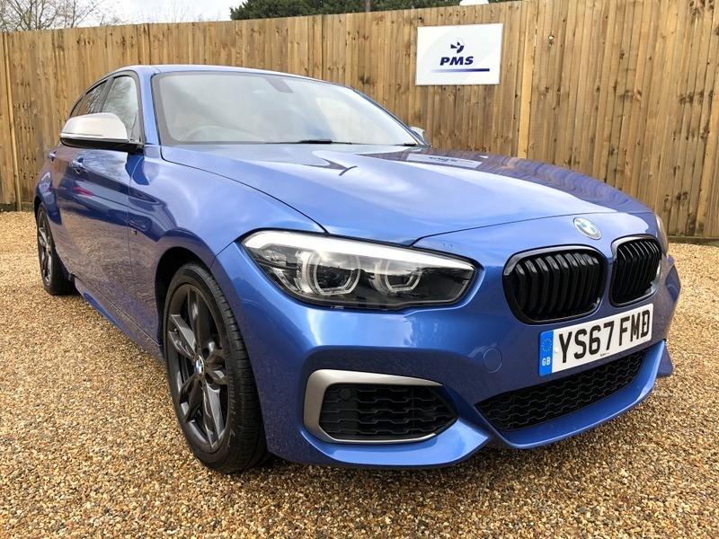 used BMW M140i SHADOW EDITION SAT/NAV-BMW WARRANTY in welwyn-hertfordshire